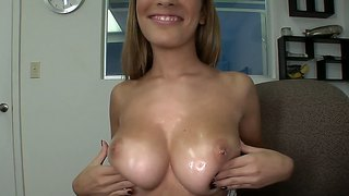 Guy Exploring The Pussy Of Big Titted Laura Love