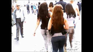 Three Hot Teen Ass