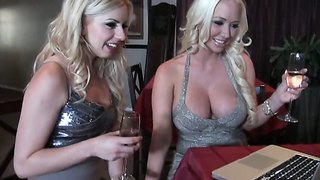 Lexi Belle And Molly Cavalli Have A Nice Time Together