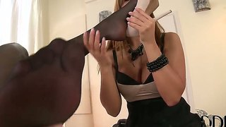 Horny Lesbians Black Angelica Along With Zafira Are Having A Preety Wild Hardcore