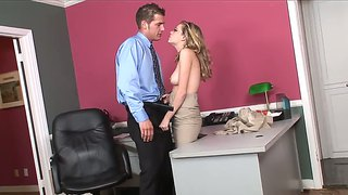 Office Sex Is On Nicole Ray?s Today To-Do List