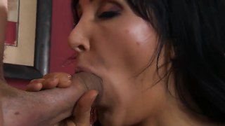 Diana Prince Sits On Scott Nail's Huge Cock