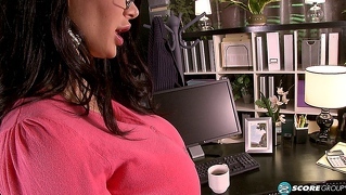 alina needs a spanky and a hard fuck from her teacher