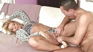 Hot Granny Gets Fucked Hard By Young Man