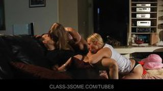 Sensual Blondes Threesome