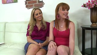 John Strong Maling Porn Interview For Two Young Vixens Julia Ann And Marie Mccray