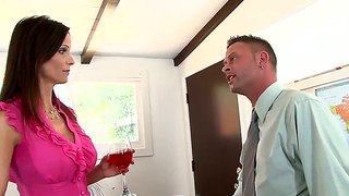Irv,jeremy Conway,syren De Mer And Tyler Knight Star In This Fantastic Moms-Cuckold Scene.