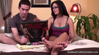 Foot Fetish Coed Peer Tutor