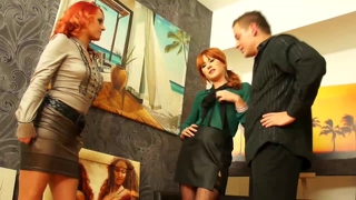 Glamorous And Classy Eurobabes Ffm Threesome