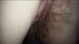 Playing With Her Hairy Ass I Found A 10 Inch Pube