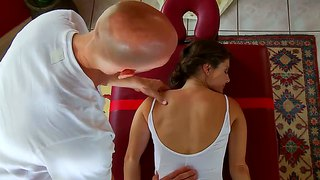 Tempting Jenni Lee Gets Massaged By Johnny Sins