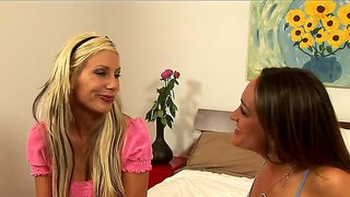 Michelle Lay And Puma Swede Horny Lesbian Kissing