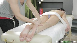 Teen Massaged And Ass Fingered