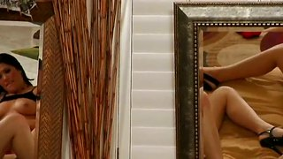 London Keyes And Mai Ly 69Ing In Front Of Mirrors