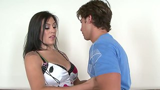 The So Hot And Beautiful Couple With The Attractive And Pretty Pornstars Raylene And Seth Gamble