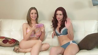 Emily Addison Is Interviewing A Sexy Redhead Siren Today