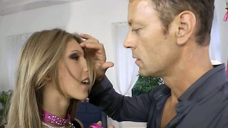 Abby H And Rocco Siffredi Go Erotic And Oral