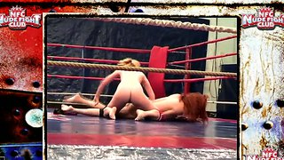 Mai Bailey And Safira White In The Wrestling Ring