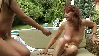 Nasty Old Redhead Fucking Young Girl