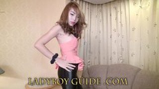 Senseless Delicate Ladyboy Love In Thai Hotel
