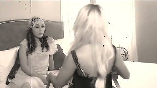 Very Beautiful Maid Was Invited To The Hotel Room By A Lesbian Hottie For Petting