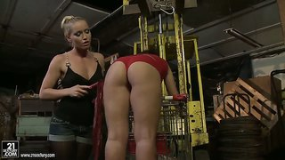 Kathia Nobili And Zyna Baby Playing Bdsm Games