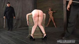 Fucked Up Slut Spanked And Rubbed