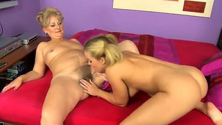 Doris And Salome Are Two Lesbians Eager To Feel And Masturbate Eachother's Pussy