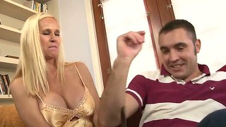 Totally Tabitha Is A Busty Milf, Who Adores Making Blowjobs