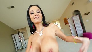 Ava Addams Uses Her Huge Boobs And Sticks Kevin Moore's Hard Cock Between Them