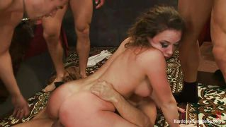 Babe Penetrated By Big Hard Cocks