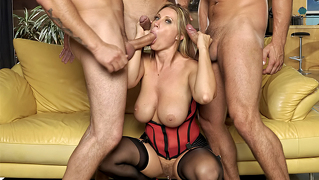 Slut's Husband Loves To Watch Her Being Drilled By Horny Men