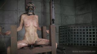 Girl In Gas Mask Gets Tortured