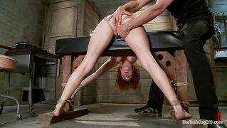Redhead Mom Gets Her Pussy Massaged Hard