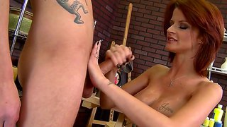 redhead milf joslyn james seduces young stud sonny hhicks