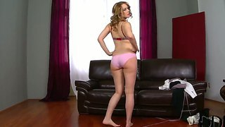 Kandall N Gives Perfect And Full Of Sensuality Strip Dance While Attending To Casting