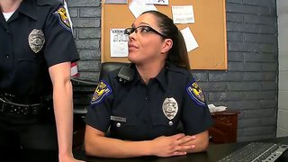 Police Officers Dana Dearmond And Francesca Le Caught Bad Boys Chris Johnson And Ramon
