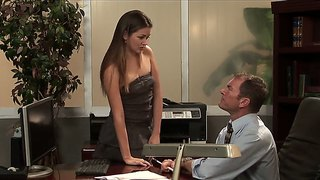 Allie Haze Can't Resist The Scent Of Randy Spears' Bazooka
