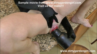 Dirtygardengirl Extreme Insertion And Prolapse Dilation