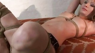 Hot Mistress Playing With Slavegirl