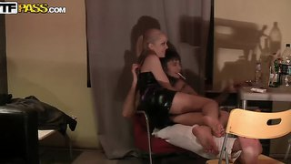 Crazy Amateur Couple In Hot Action