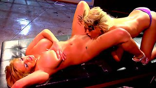 Amazing And Crazy Action With Hot Blondes Named Bridgette B. And Shyla Stylez
