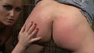 Perverted Babes Kathia Nobili And Melyssa Adore Being Involved Into Tough Bdsm Sex Including Hard Spanking